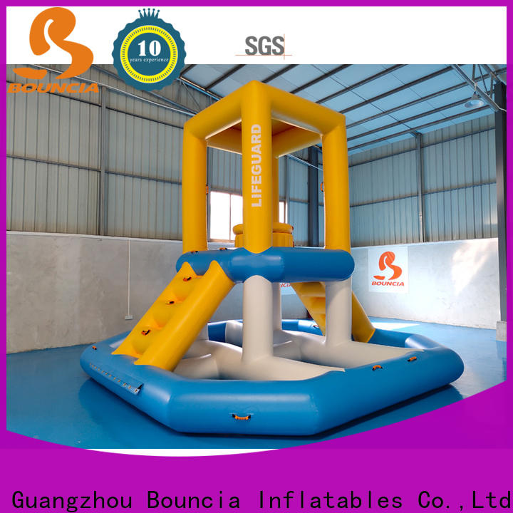 floating inflatable assault course climbing manufacturers for kids
