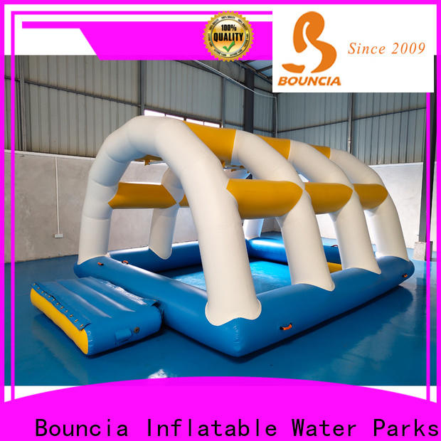 Bouncia Wholesale inflatable water park for sale customized for pool