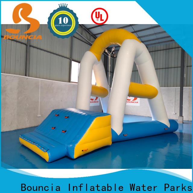 Bouncia awesome inflatable water park equipment manufacturers for adults