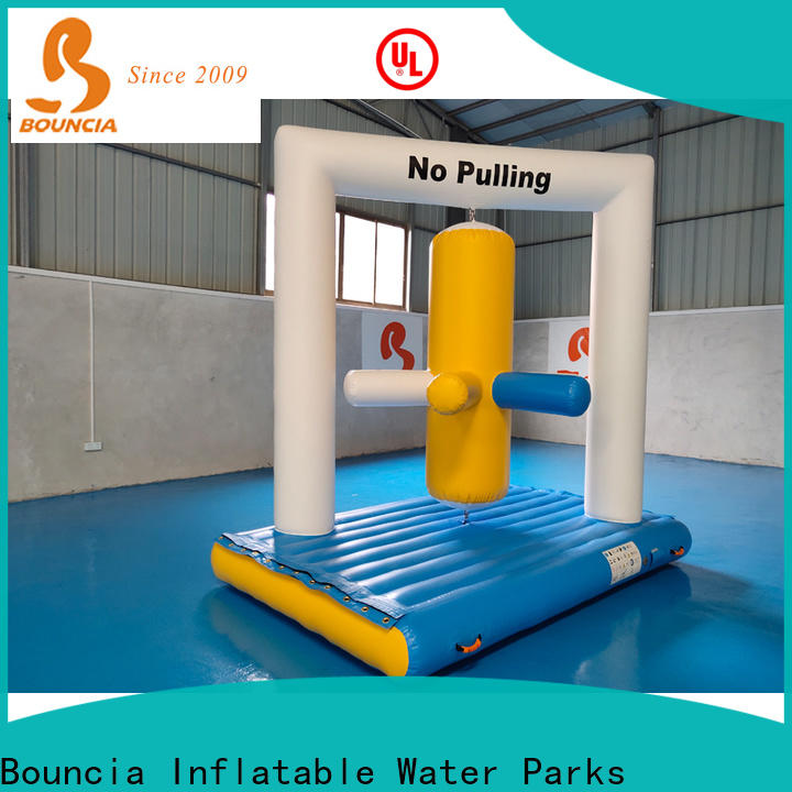 Bouncia one station water inflatables for lakes Supply for kids