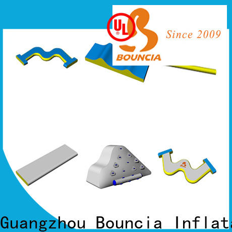 Bouncia Top aqua inflatables factory price for lake