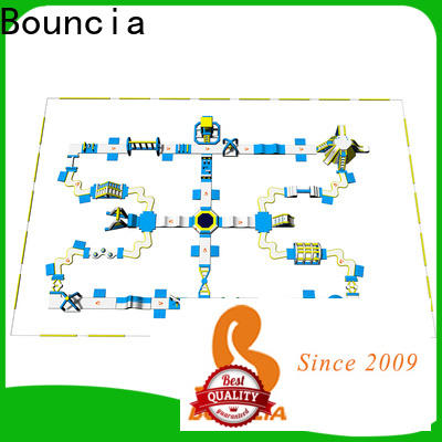 Bouncia Latest giant inflatable water slide manufacturer for kids