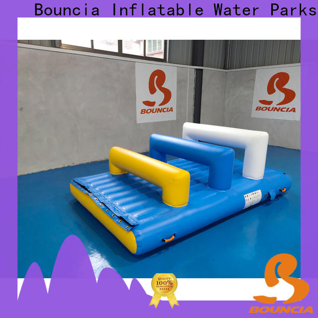 Bouncia ramp inflatable water amusement park Supply for adults