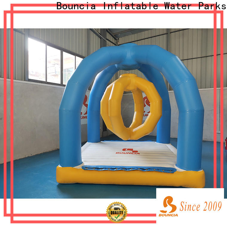 Bouncia one station water park for sale for outdoors
