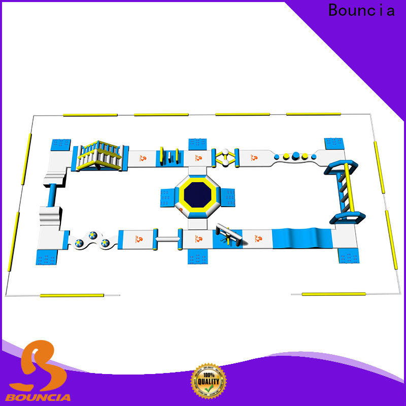Bouncia inflatables commercial grade inflatable water park factory price for adults