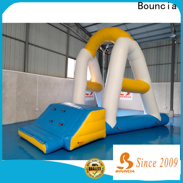 durable inflatables on water ramp manufacturer for pool