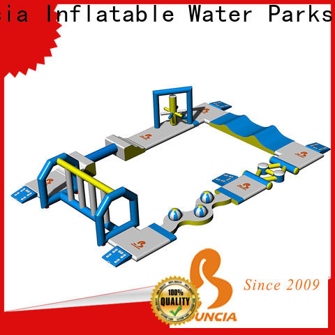 Bouncia course inflatable water fun Suppliers for kids