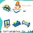 Bouncia splash inflatable water park supplier factory for lake