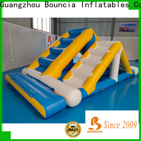 Bouncia colum inflatable water slide company for adults