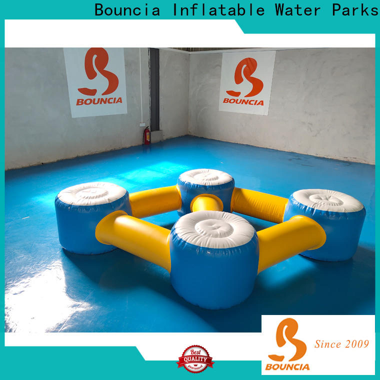 Bouncia durable inflatables on water customized for outdoors