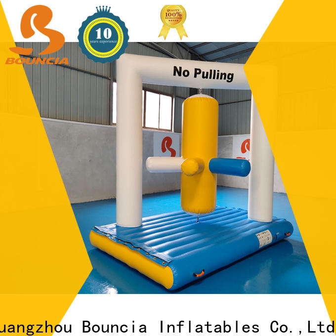 Bouncia stable inflatable water playground Supply for outdoors