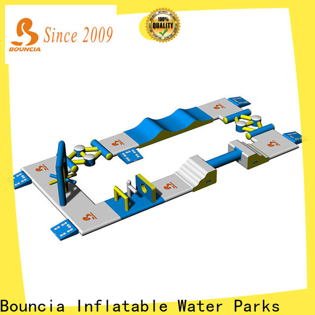 Bouncia commercial giant inflatable water obstacle course company for pools