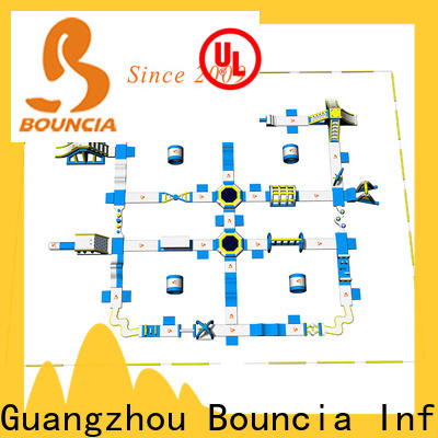 Bouncia Top inflatable water park for adults Suppliers for lake