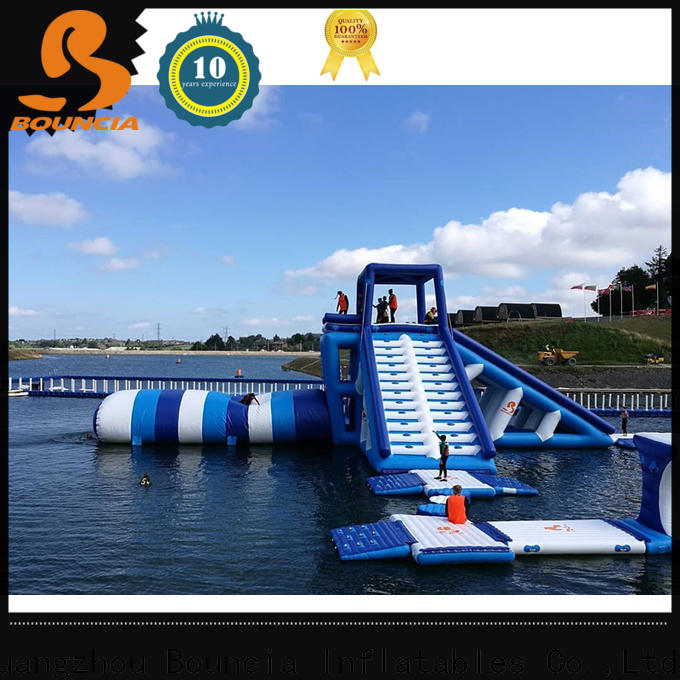 Bouncia course bounce inflatable theme park Supply for adults