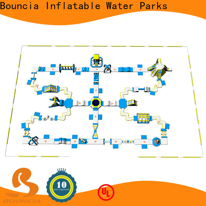 Bouncia tarpaulin huge inflatable water customized for lake