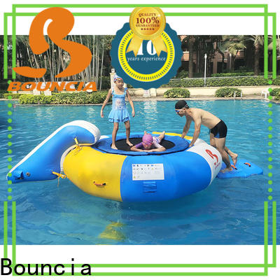 certificated the inflatable water park ramp Supply for pool