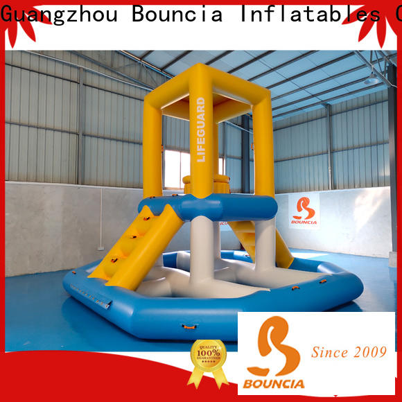 Bouncia floating floating water park for sale factory for outdoors