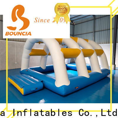 Bouncia tarpaulin inflatable slip n slide from China for outdoors