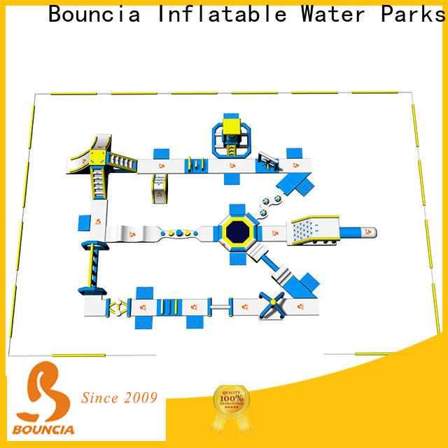 Bouncia equipment inflatable waterslides for lake