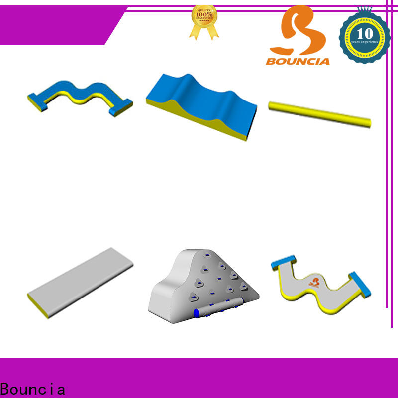Bouncia Best buy giant inflatable water slide supplier for lake