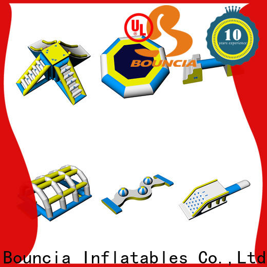 Bouncia New inflatable lake playground supplier for lake