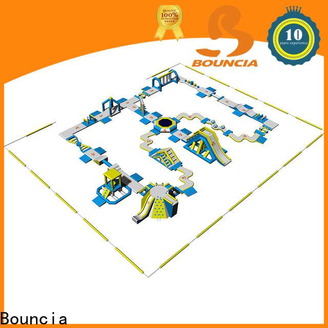 Bouncia splash bounce inflatable theme park wholesale for kids