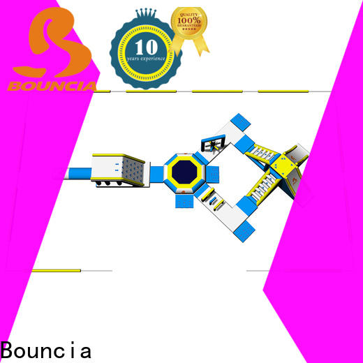Bouncia fun inflatable floating water park for sale company for adults
