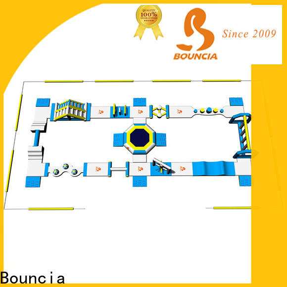 Bouncia commerciall water slide from house to pool company for kids