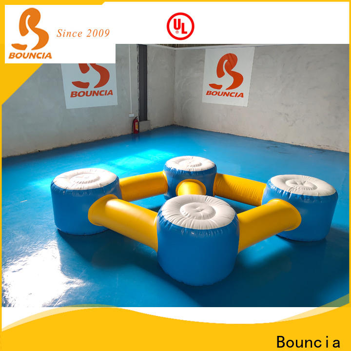 Bouncia mini games best inflatable water slide factory for pool