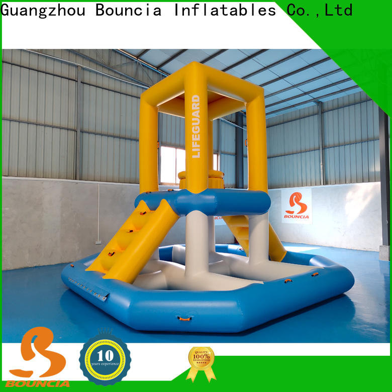 Bouncia water park project for pool