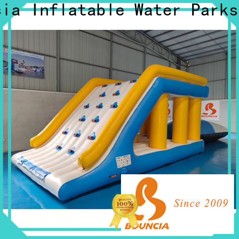 certificated inflatable splash park trampoline customized for kids