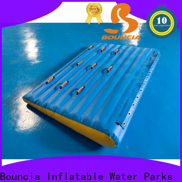 Bouncia grade blow up water park factory for pool