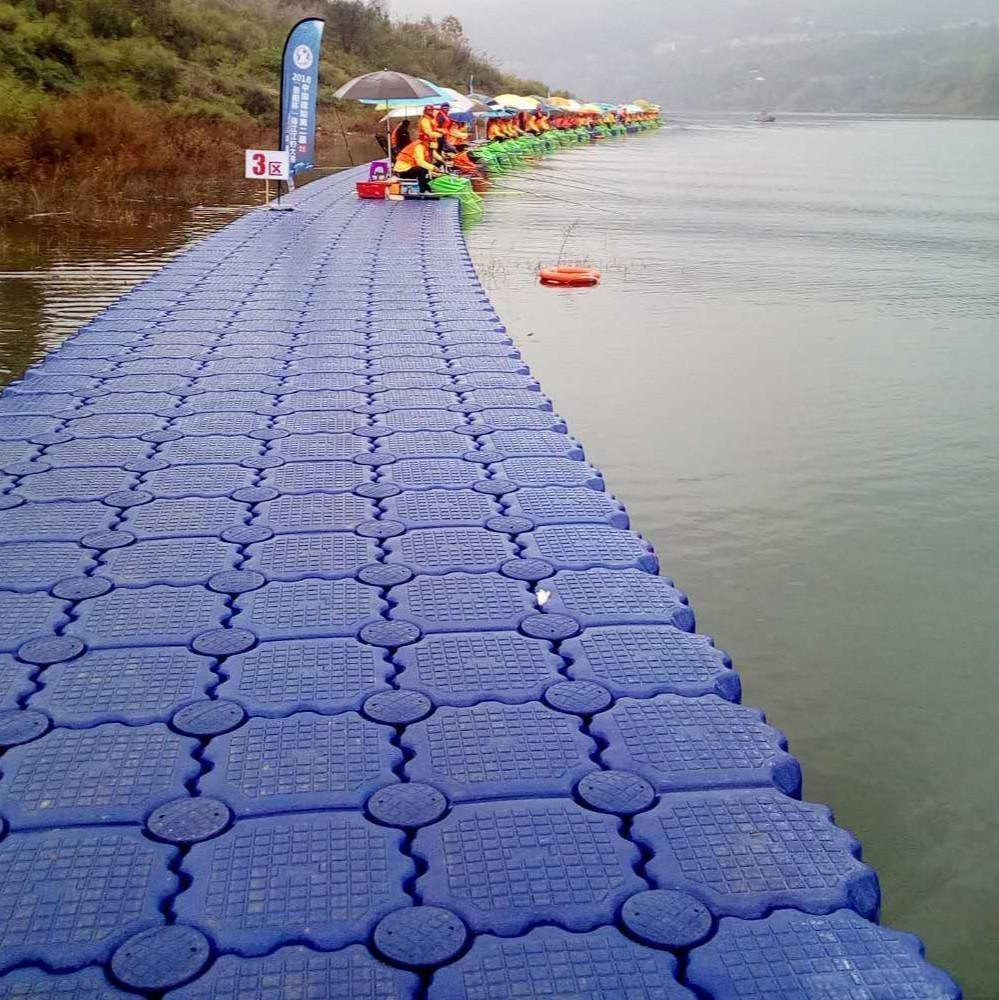 HDPE floating pontoon dock / floating cube / modular floating dock for sale