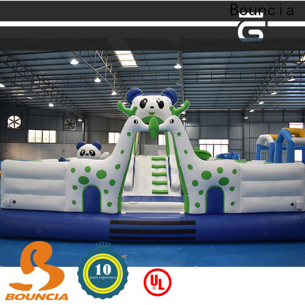 Bouncia Best inflatable lake water park Supply for student