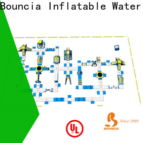 Bouncia tarpaulin inflatable water attractions for kids