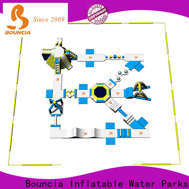pool side slide bouncia Supply for outdoors