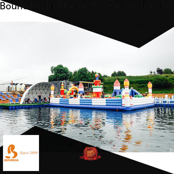 Bouncia inflatable commercial water park from China for children