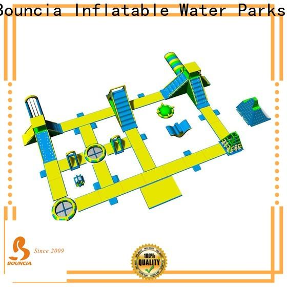 Bouncia inflatable water park for adults for outdoors