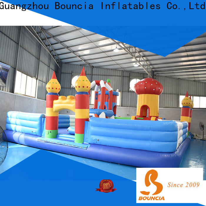 Wholesale inflatable backyard water park manufacturer for student