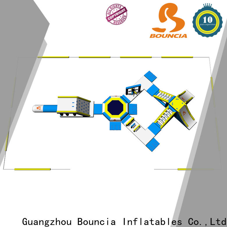 Bouncia big fun water parks factory for outdoors