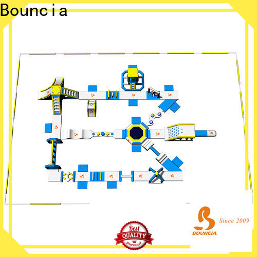 Bouncia stable swimming pool tube slide manufacturers for lake