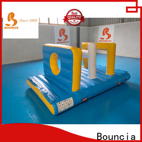 Bouncia floating commercial inflatable water park for business for adults