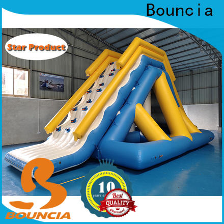 Bouncia one station inflatable water park factory for outdoors