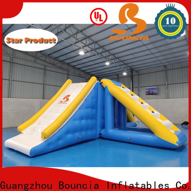 Bouncia jumping platform water games park factory for outdoors
