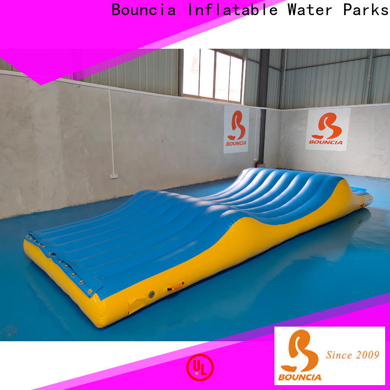 Top floating water playground bouncia Supply for kids