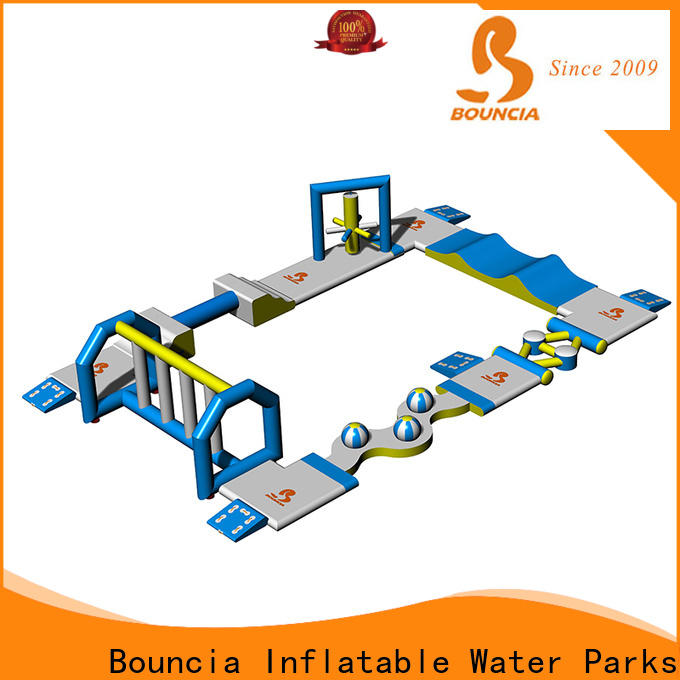 Bouncia toys aqua inflatables Suppliers for lake