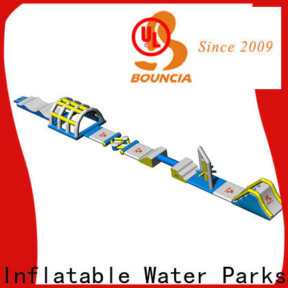Bouncia Wholesale inflatable floating water park manufacturers for kids