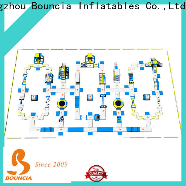 Bouncia Wholesale air water slides sale for business for lake