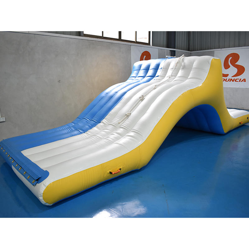 Commercial Floating Water Game Inflatable Rope slide