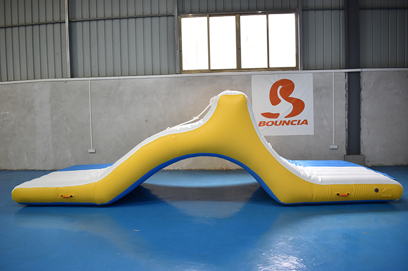 Bouncia trampoline inflatable water park for sale for business for pool-1